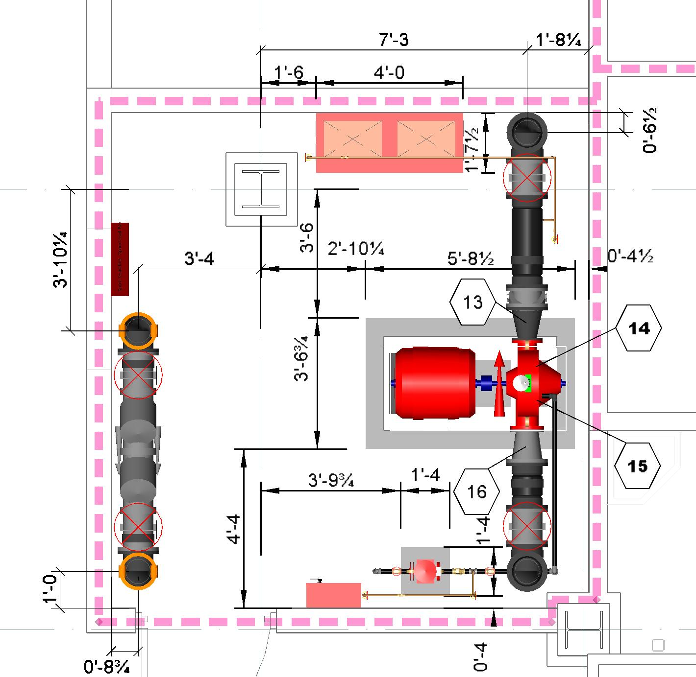 Fire Pump Layout and Sizing  ABSpk